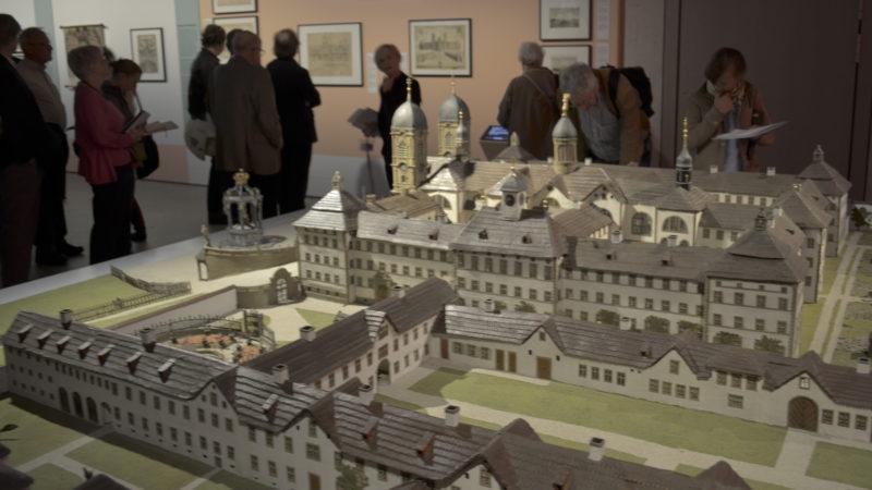 Kloster Einsiedeln im Modell | © Regula Pfeifer