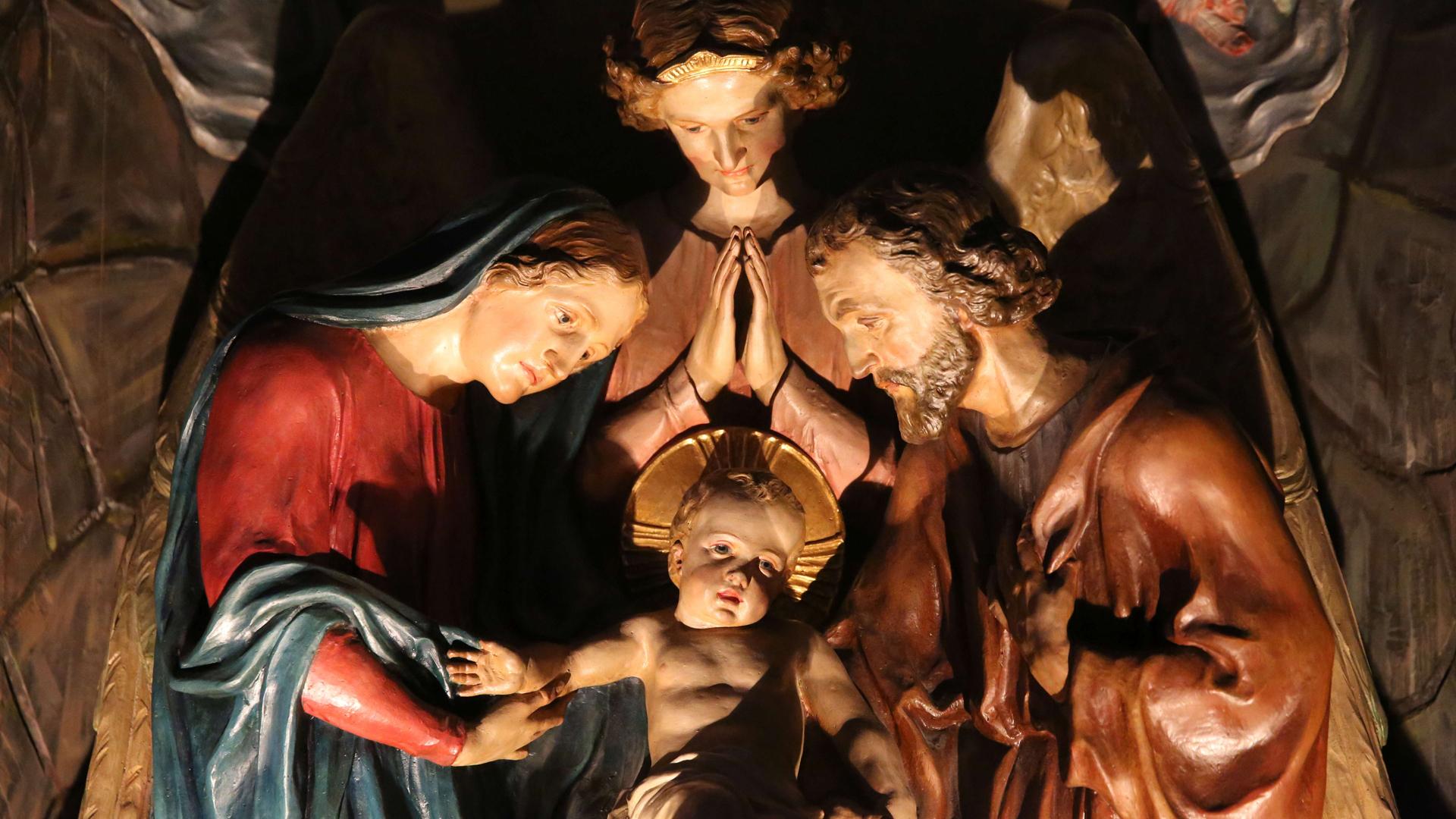 Weihnachten Krippe Bilder.Papst Weihnachten Eröffnet Ein Neues Lebensmodell