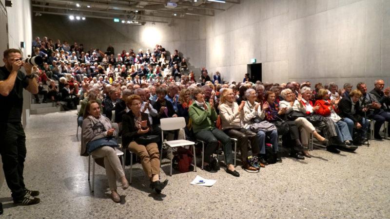 Grosses Publikumsinteresse beim Anlass im Landesmuseum. | © Vera Rüttimann