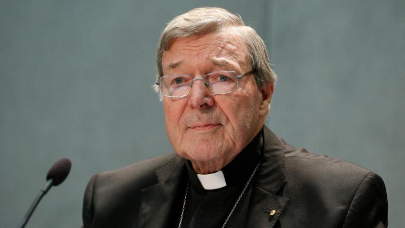 Der australische Kardinal George Pell äussert sich am 29. Juni 2017 zu Missbrauchsvorwürfen  | © kna