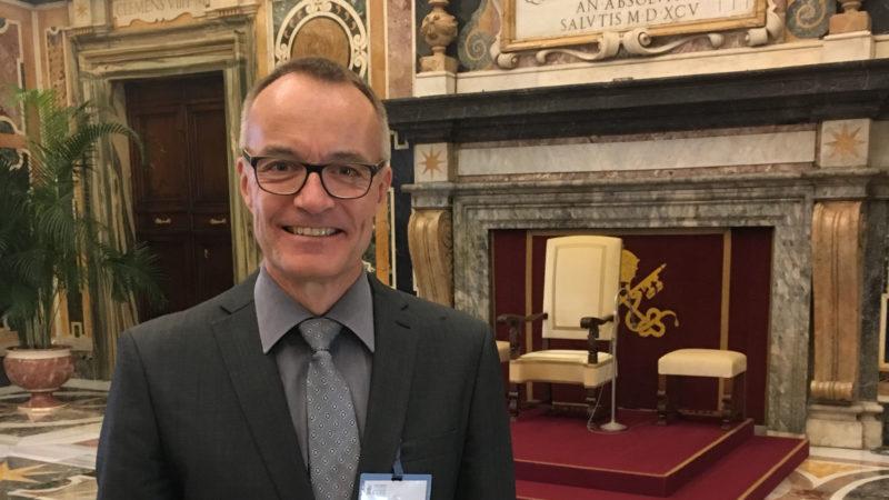 Patrick Renz ist Direktor der bischöflichen Dienststelle migratio | © zVg