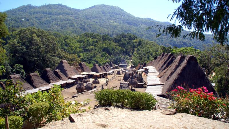 Dorf auf Flores, Indonesien   © pixabay hnijssen CC0
