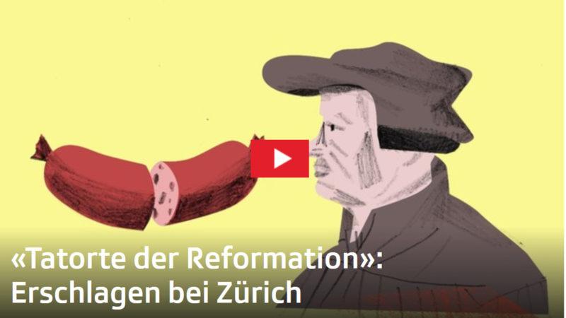 Spielorte der Reformation | © screenshot srf.ch