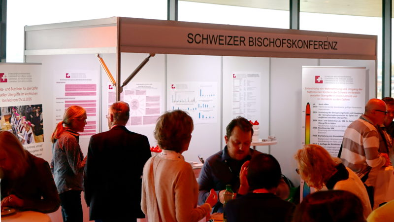 SBK-Stand an Konferenz «Abuse & Neglect» | © Georges Scherrer