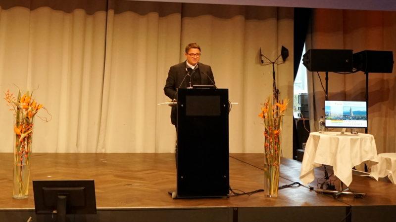Bischof Felix Gmür, Konferenz «Abuse & Neglect» | © Georges Scherrer