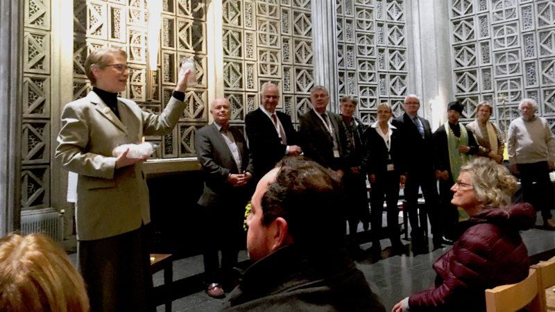 Studientag «Ewiges Leben»: Referenten in der Kapelle | © zVg