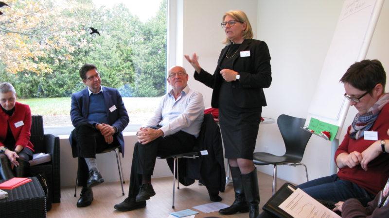 50 Jahre diözesane Räte: Workshop mit Margrith Mühlebach  | © Christian von Arx