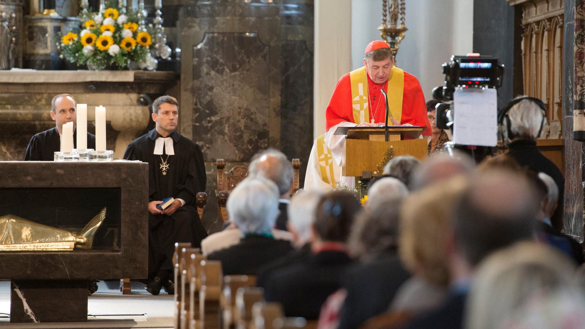 Ökumenischer Gottesdienst mit Gottfried Locher und Kardinal Kurt Koch | © Sibylle Kathriner