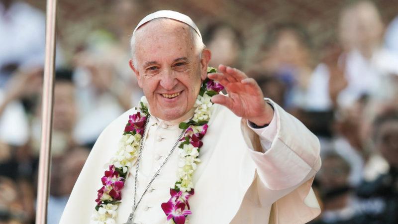 Papst Franzikus 2017 in Dhaka, Bangladesch | © kna