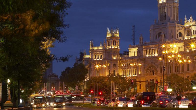 Strassenszene in der spanischen Hauptstadt Madrid | © Keystone/Chris Seba