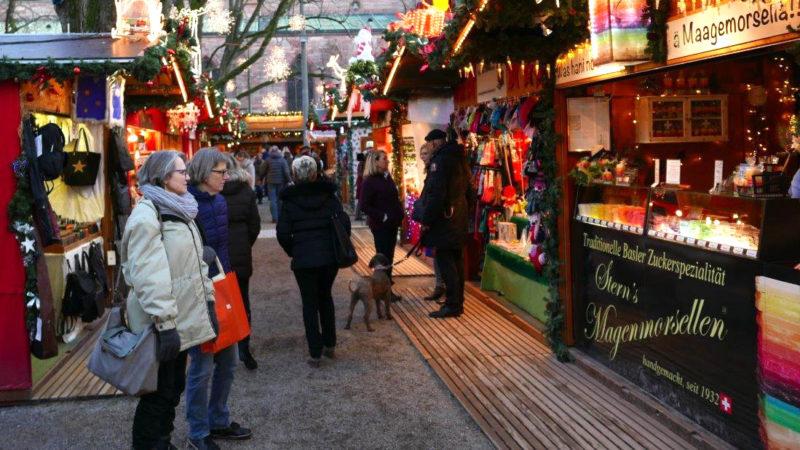 Weihnachtsmarktstimmung in Basel | © Remo Wiegand