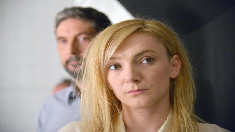 "Endre (Géza Morcsányi) und María (Alexandra Borbély) im Film ""On Body and Soul"" | © Filmcoopi Zürich"
