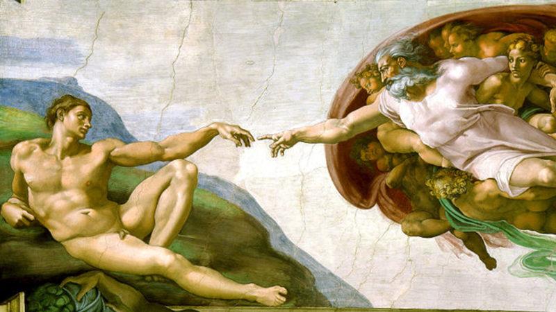 «Die Erschaffung Adams» von Michelangelo | © pixabay CC0