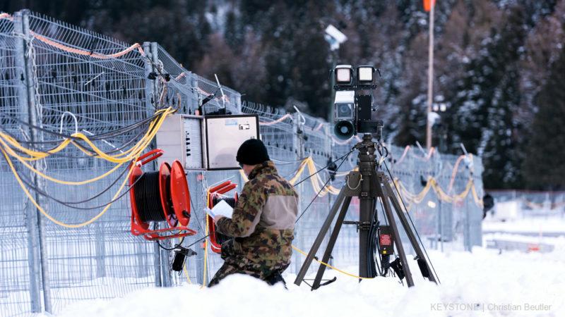 Davos rüstet sich für das WEF  | © Keystone Christian Beutler