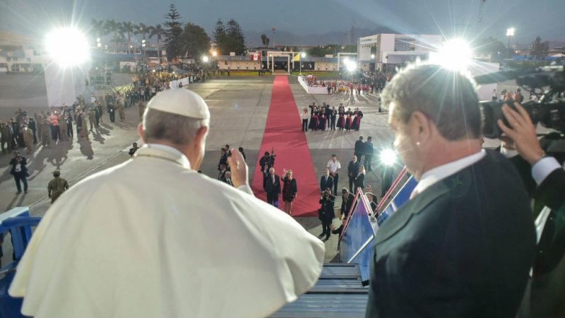 Papst verlässt Peru   © kna Romano Siciliani