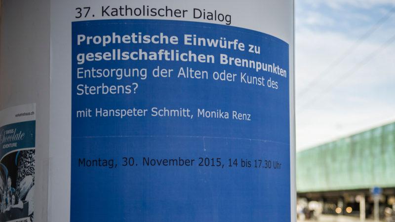 Plakatsäule beim Romerohaus | © Vera Rüttimann