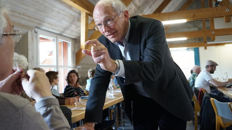 Erwin Koller, Moderator der «Katholischen Dialoge»  | © Vera Rüttimann
