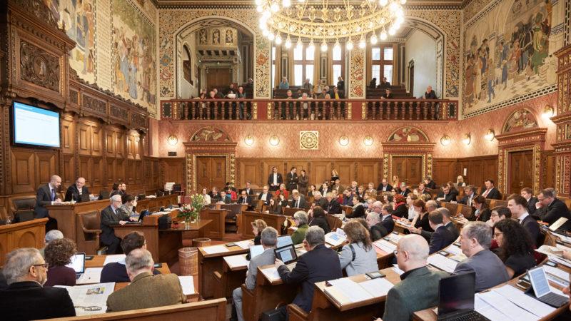 Sitzung des Grossen Rates in Basel | © Michael Fritschi