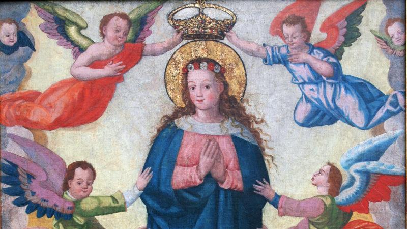 Das Gnadenbild Mariens, welches vor 180 Jahren von Sta. Maria nach Müstair überführt wurde | © zVg