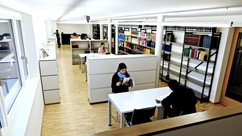Öffentlich zugänglich: die «Jesuitenbibliothek Zürich» | © zVg