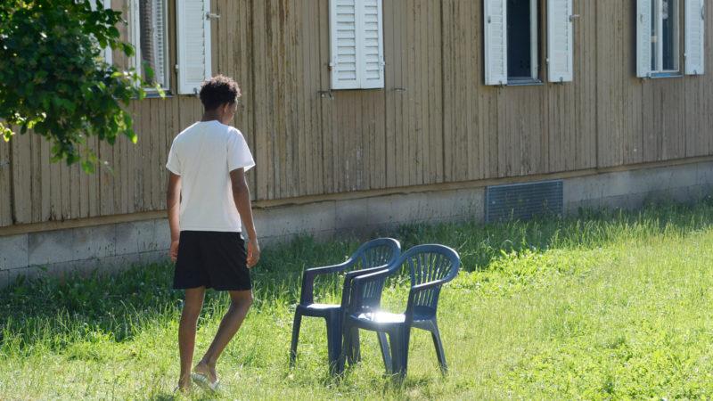 Asylbewerber im Zentrum Juch in Zürich | © Keystone