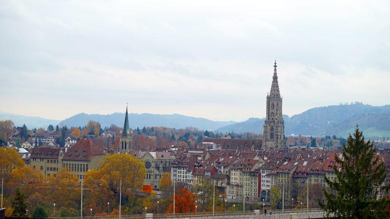 Blick über die Altstadt Bern | ©  Georges Scherrer