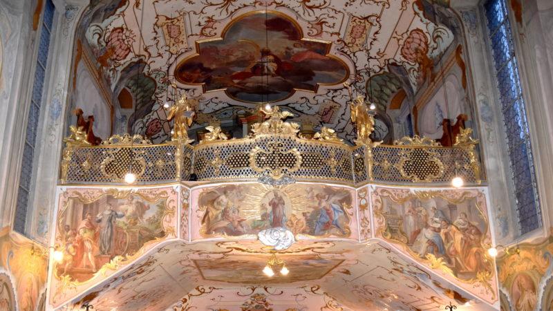 Empore in der Kirche des Klosters Fahr | © Barbara Ludwig