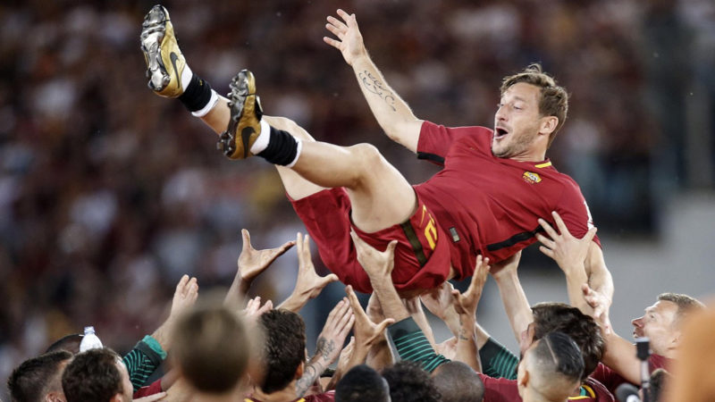 Ex-Fussballprofi Francesco Totti  | © Keystone/Riccardo Antimiani