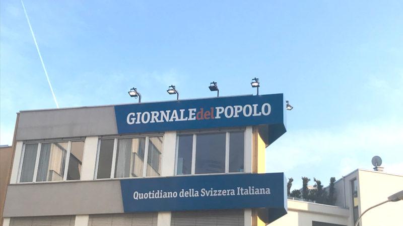 Gebäude des «Giornale del Popolo», der Zeitung des Bischofs von Lugano | © zVg