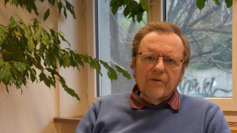 Einen Chef an den»chefmässigen» Lohn erinnern: Supervisor Bernd Kopp sprach Klartext. | © Barbara Ludwig