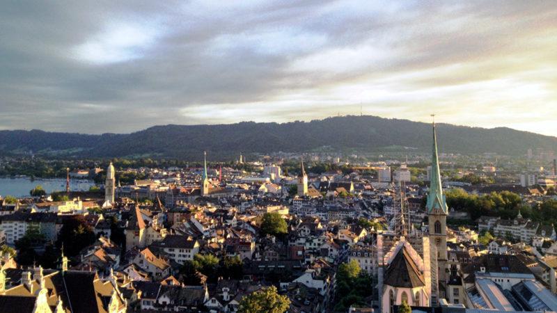 Blick auf die Stadt Zürich | ©  Georges Scherrer