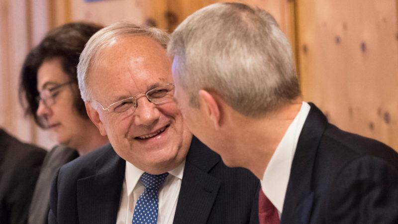 Bundesrat Johann Schneider-Ammann am Weltwirtschaftsforum Davos  | © Keystone/Gian Ehrenzeller
