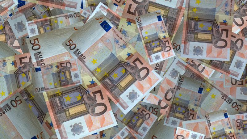 Euro-Noten | © pixabay.com fotoblend CC0
