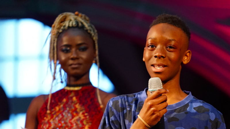 Junger Rapper am Berner Festival der Kulturen | © Vera Rüttimann