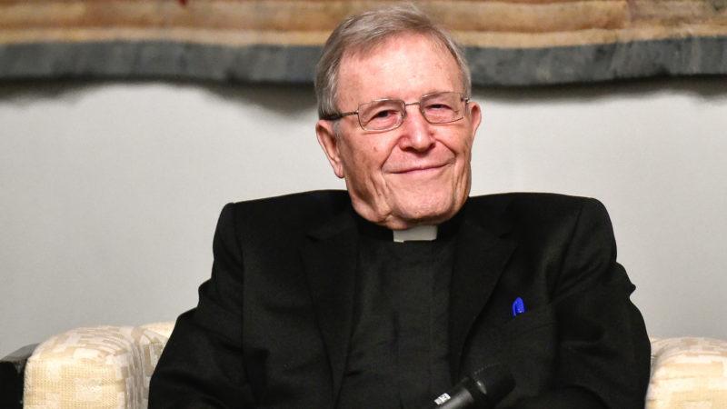 Walter Kasper, emeritierter Kurienkardinal, am 15. Januar 2018 in Rom.  | © zVg