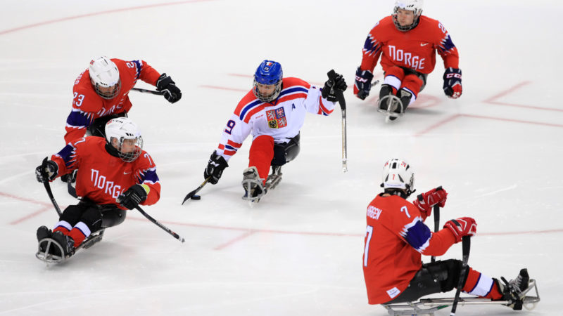 Hockeymatch an den Winter Paralympics in PyeongChang 2018 | © keystone