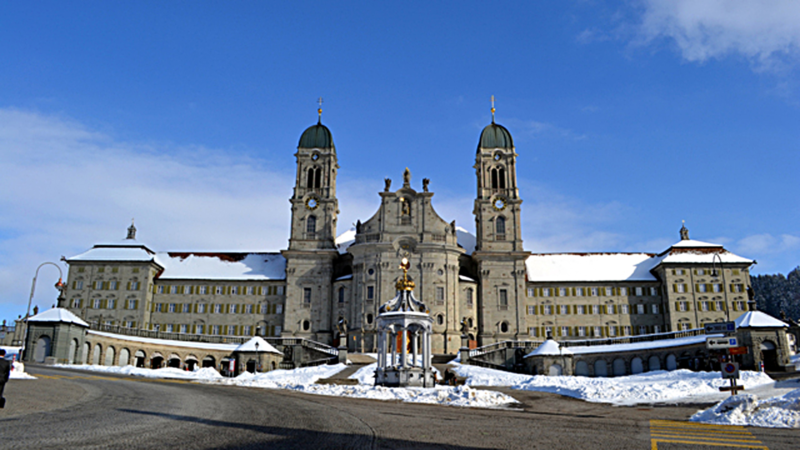 Kloster Einsiedeln | © Georges Scherrer