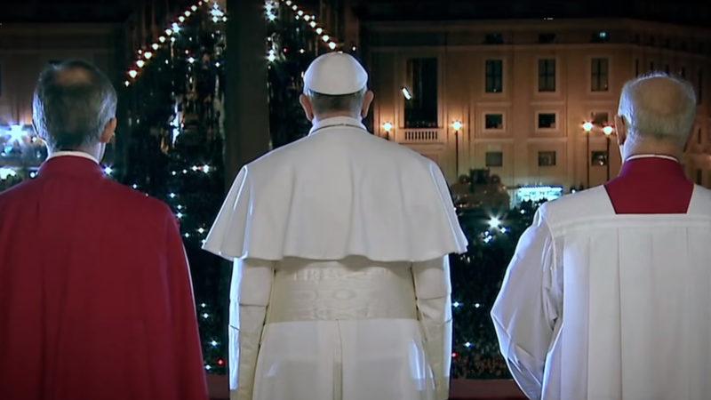 Ausschnitt aus dem Trailer zum Papstfilm von Wim Wenders   © Screenshoot