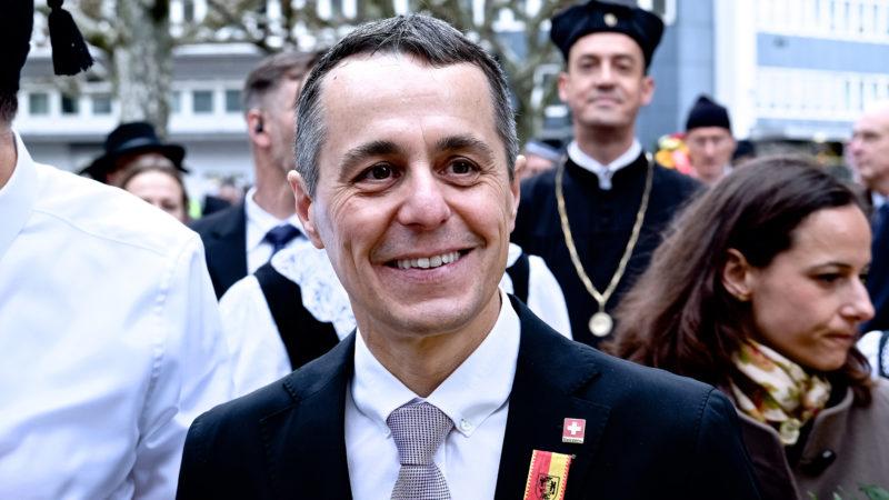 Bundesrat Ignazio Cassis am Sechseläuten | © Oliver Sittel