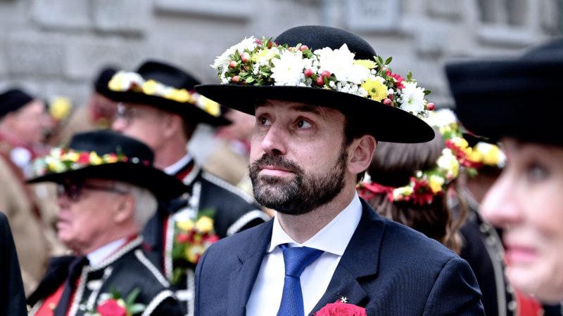 Gottfried Locher, SEK-Ratspräsident, am Sechseläuten | © Oliver Sittel