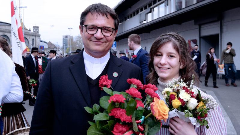 Bischof Felix Gmür, erstmals am Sechseläuten. | © Oliver Sittel