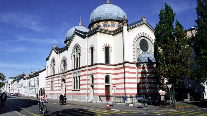 Basler Synagoge | © KEYSTONE/Branko de Lang