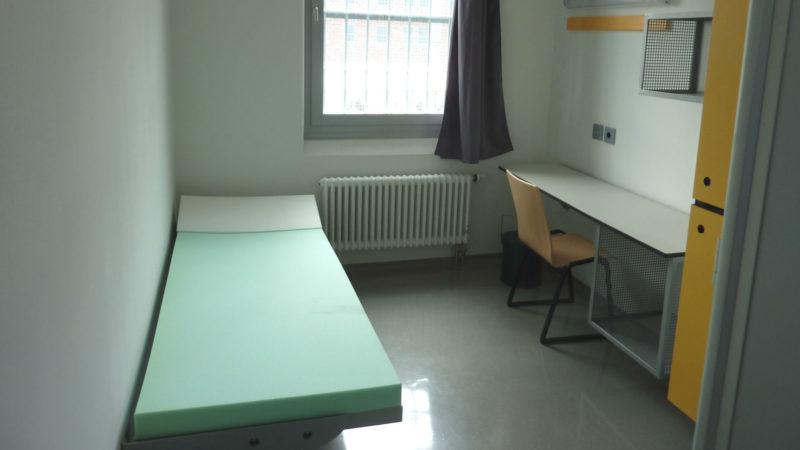 Eine Einzelzelle im Gefängnis Wuppertal-Ronsdorf (D) | © zVg