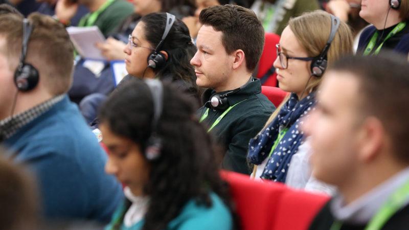 Jugendliche an der Jugend-Vorsynode in Rom | © Bernard Hallet