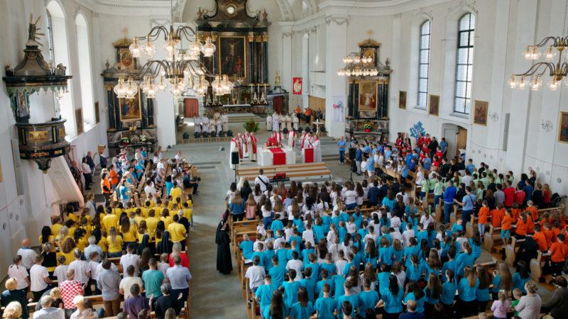 Kroaten feiern Gottesdienst in der Kirche von Malters LU | © Ivan Ivic
