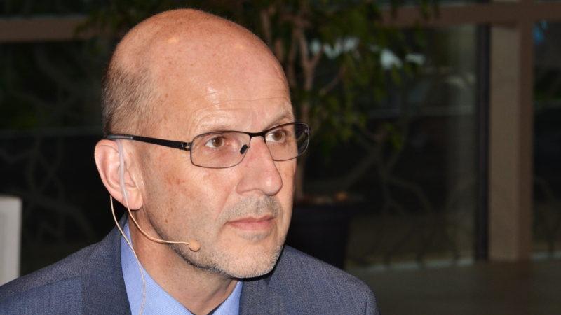 Moderator Daniel Kosch, Generaksekretär der Römisch-Katholischen Zentralkonferenz | © Sylvia Stam