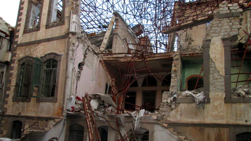 Zerstörtes Haus in Homs | © Kirche in Not