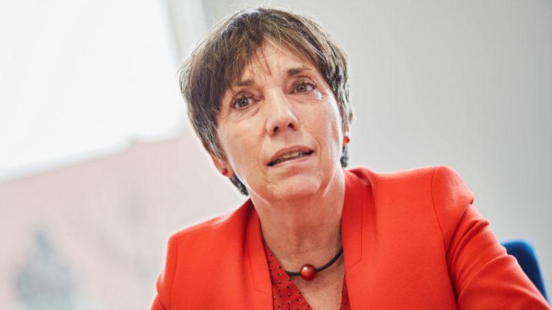 Margot Kässmann, Theologin, Pfarrerin und Botschafterin für das Reformationsjubiläum 2017  | ©  kna
