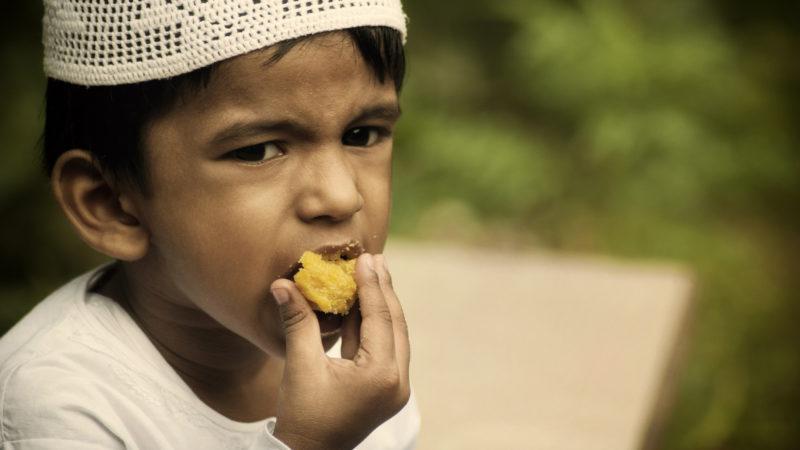 Muslimische Kinder sind nicht zum Fasten verpflichtet. | © pixabay.com