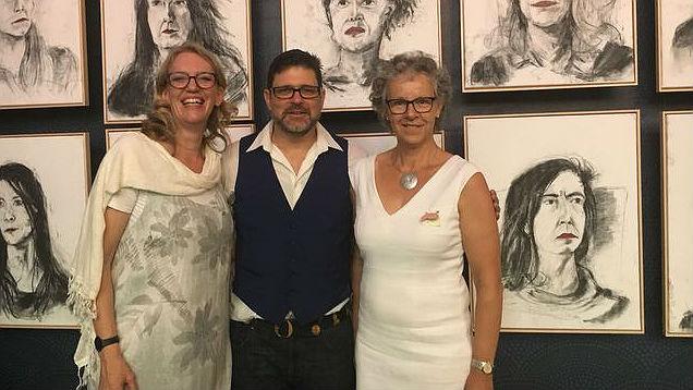 Franziska Driessen, Daniel Eisenhut, Simone Curau-Aepli (von links) | © zVg